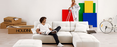 Một bộ sofa có cả chục cách sắp xếp